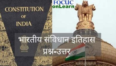Indian Constitution GK in Hindi