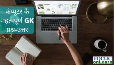 Important Computer GK in hindi