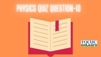 Physics Quiz Question-10