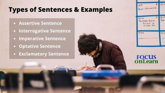 Types of Sentences in Hindi