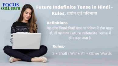 Future Indefinite Tense in Hindi