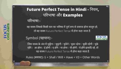 Future Perfect Tense in Hindi