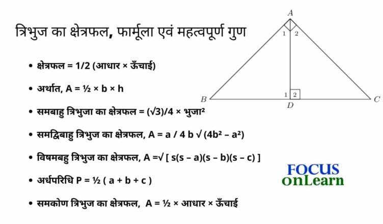 Tribhuj ka kshetrafal