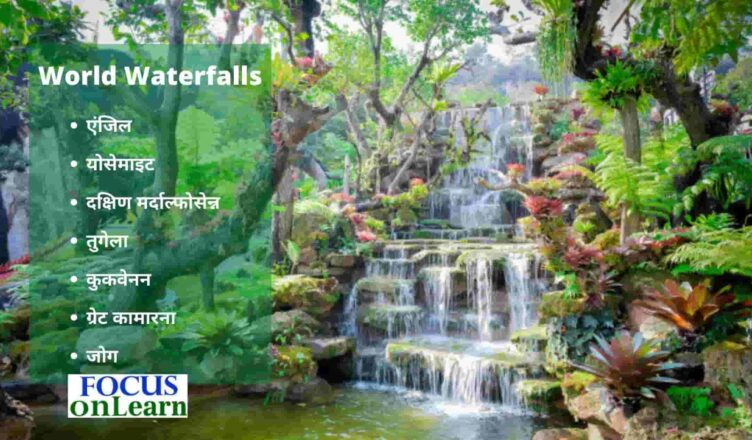 World Waterfalls GK in Hindi