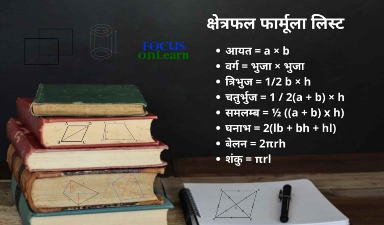 Kshetrafal Formula in Hindi